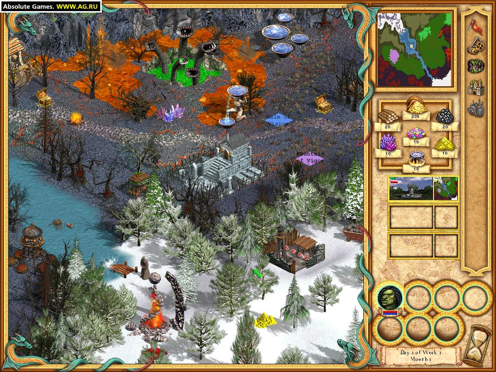 Heroes of might and magic iv / герои меча и магии iv (2002.