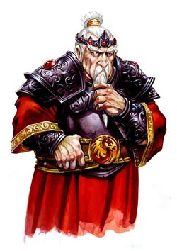 Dorn, The Dwarven King of the Nation of Erberek