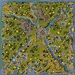 Download map Les Terres Royales ( Royal Countries ) - heroes 6 maps