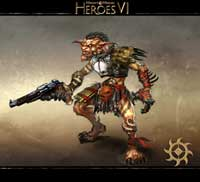 The gun-slinging Grunt - heroes 6 Forge faction